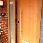 Oak Effect High Security Door
