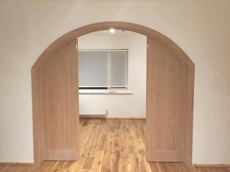 Internal room dividers next door doors - Internal room dividing doors ...